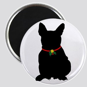 Christmas or Holiday French Bulldog Silhouette Mag